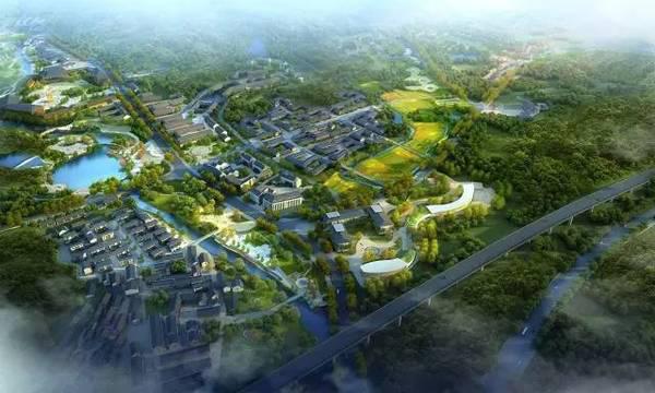 天台县城区规划图