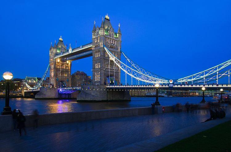 英国:伦敦塔桥(tower bridge) -- 建筑畅言网