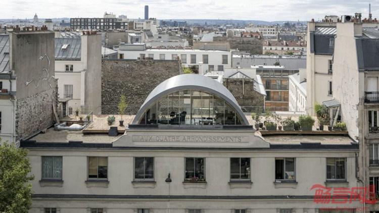 法国:Aux Quatre Arrondissements住宅增建