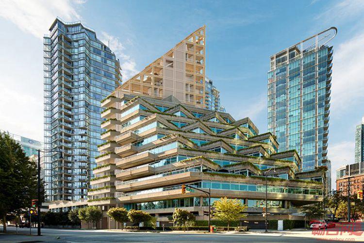 加拿大:温哥华阶梯住宅