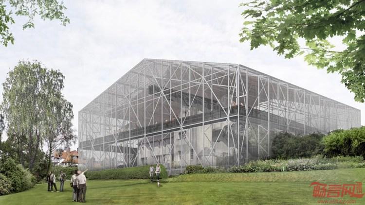 英国:苏格兰Hill House翻新 保护工程对建筑的影响