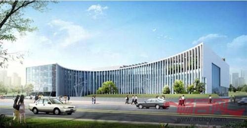 五层政府办公楼效果图图片;