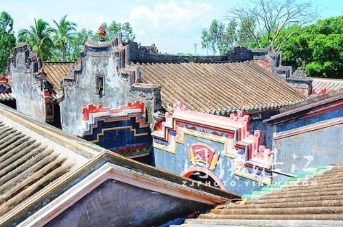 陵川县附城古寺庙木雕图片