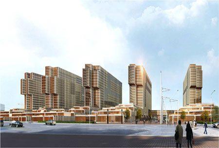 宁波和丰创意广场位于浙江省宁波市滨江大道以东图片