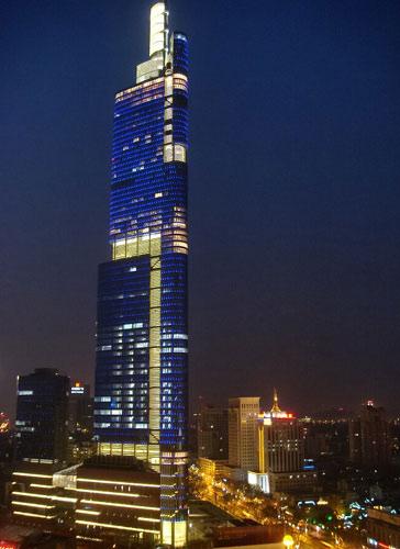 南京紫峰大年夜厦