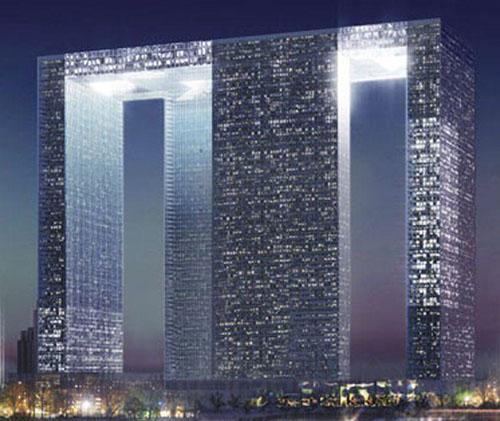 重庆协和城双子塔
