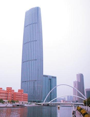 天津津塔(图片来源:百度)