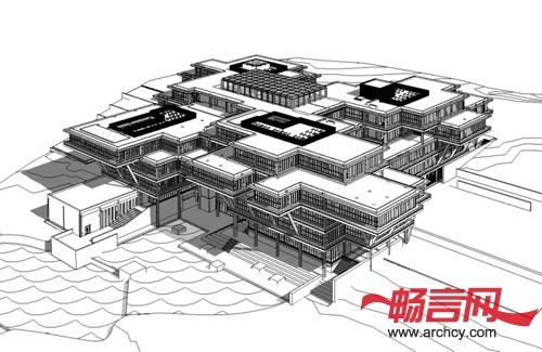 revit模型:建筑和结构