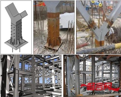 钢结构xsteel三维模型
