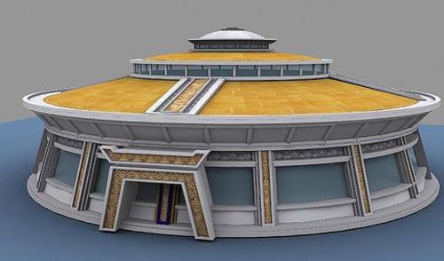 结语    总之, 蒙古族传统建筑文化是独具特色的价值观念,建筑