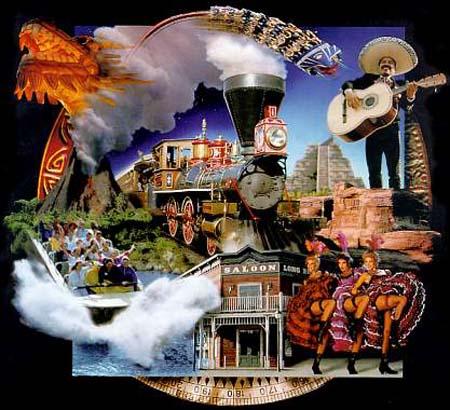 聚焦 五花八门的建筑设计之游乐园 > 正文      景区分为墨西 哥,玻利
