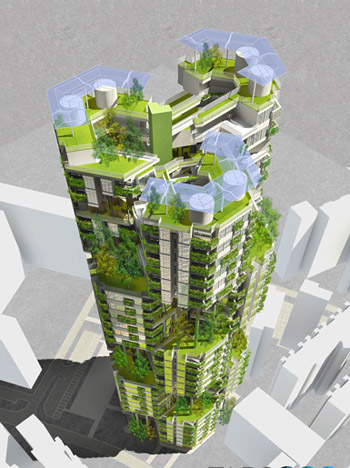 超高层设计建筑可持续办公发展趋势字设计艺术m图片