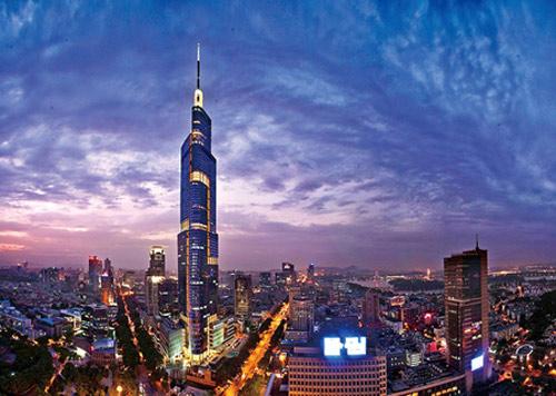 本项目由美国著名设计单位som与华东建筑设计研究院有限公司合作图片
