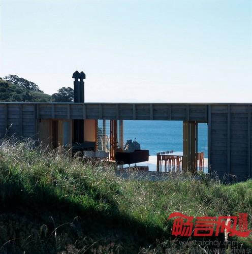 新西兰:科罗曼德半岛海边木屋