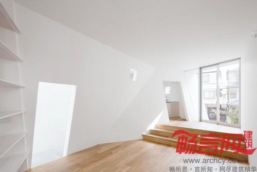 日本東京建筑設計單位alphaville設計了一座折疊房子