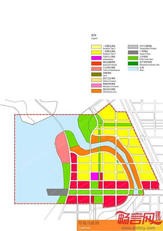 大连普兰店湾地区概念性总体规划图片