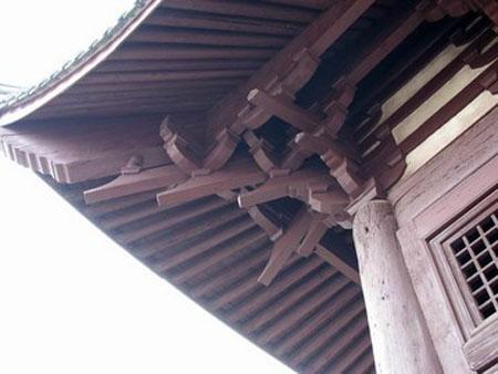 天宁寺的砖木雕饰
