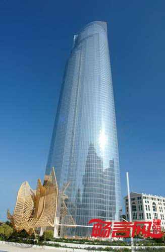 阿联酋:d1高层住宅楼