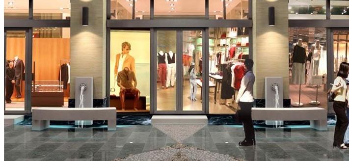 """兰敏华:商业建筑橱窗是商场的""""眼睛""""图片"""