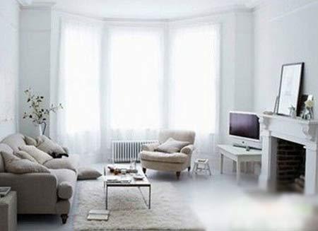 客厅巧饰三面凸窗; 客厅设计 巧饰三面凸窗 [装修知识]; 客厅装修效果